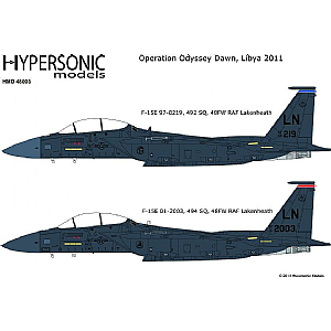 F-15E Operation Odyssey Dawn - USA